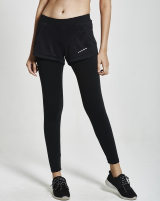 SuperFlex Running 2-IN-1 Pant (Black)