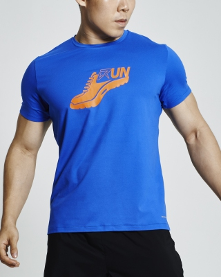 Glister Running Shirt (Blue)